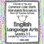 Common Core English Language Arts FREE Back-to-School ebook: Grades 3-5