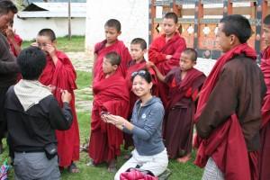 Karen in Bhutan