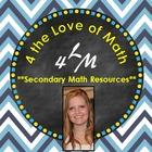 4 the Love of Math: Teachers Pay Teachers