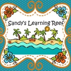 Sandy's Learning Reef - Milestone Mania
