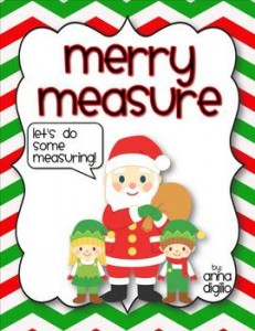 Merry Measure - Holiday Measurement Unit: Winter Holiday Freebies