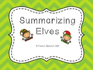 Summarizing Elves: Winter Holiday Freebies