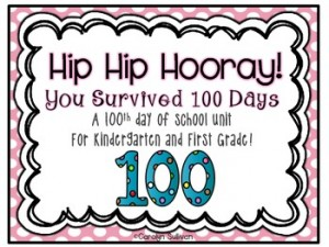 Buzz Into Kinder: 100th Day of School