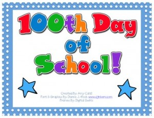Cahill's Creations: 100th Day of School