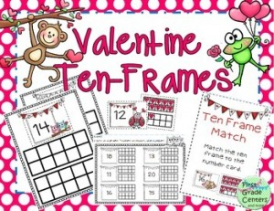 First Grade Centers and more: Be My Valentine