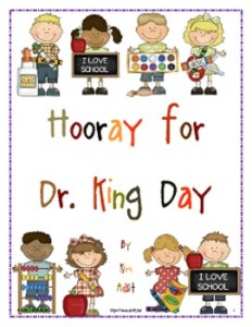 Hooray for Dr. King Day: MLK Jr.