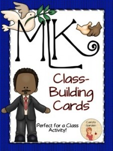 MLK Class Building Cards: MLK Jr.