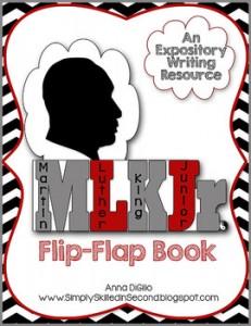 MLK Flip-Flap Book: MLK Jr.