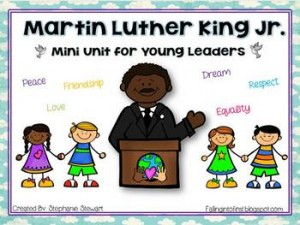 Martin Luther King Day Mini Unit: MLK Jr.