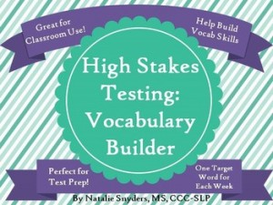 Natalie Snyders: Test Prep