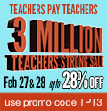 Teachers Pay Teachers: Sitewide Sale