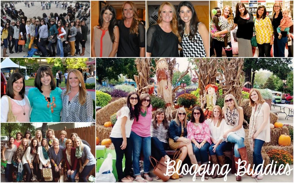 Amy Lemons and Blogging Buddies