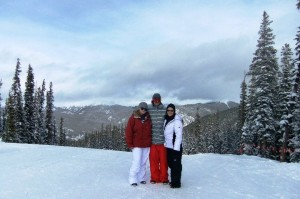 Colorado with My Mom Becky and Brother Garrett: Jenna Rayburn