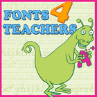 Fonts4Teachers: March Milestone Teachers