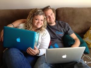 My IT Guy Working on My Website - My Brother Garrett: Jenna Rayburn