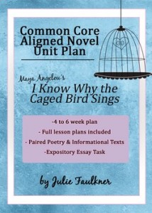 I Know Why the Caged Bird Sings Common Core Aligned Autobiography Unit