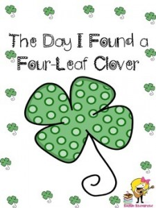 March Writing- Finding a Four Leaf Clover