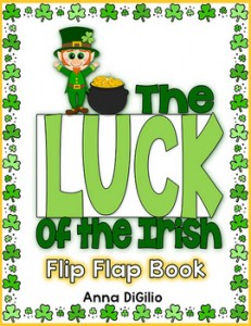 St. Patrick's Day - The Luck of the Irish Flip Flap Book