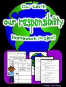 Literacy Loves Company: Earth Day