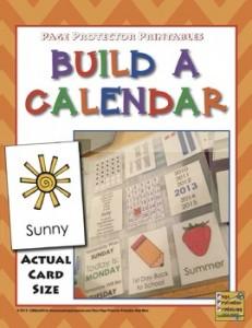 Calendar for Morning Work {Build•A•Calendar}
