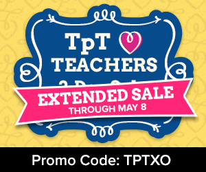 TpT Hearts Teachers Sale