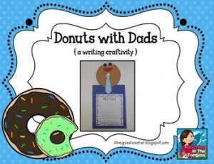 Donuts with Dads Craftivity