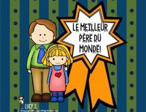 French Father's Day - La Fête des Pères { français }