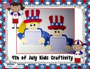 4th of July Kids Craftivity