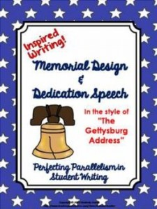 "Memorial Design & Speech Writing with ""The Gettysburg Address"" Inspired Writing"