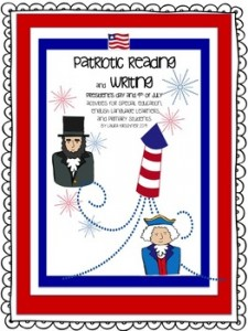 Patriotic Reading and Writing/President's Day/Independence Day