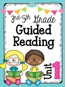 3rd-5th Grade Guided Reading Unit