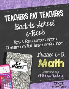 Math Grades 6-12 eBook
