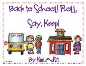 Roll Say Keep Kim Adsit
