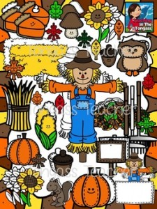 Fall Clipart Bundle: Fall-Themed Classroom Resources