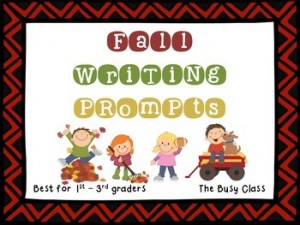 Fall Writing Prompts (1st-3rd): Fall-Themed Classroom Resources