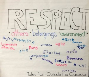Only one classroom rule- respect