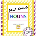 Task Cards Nouns Common Core Aligned