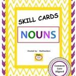 Task Cards Nouns Common Core Aligned