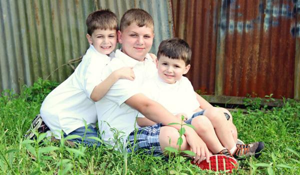 Erin's 3 Boys
