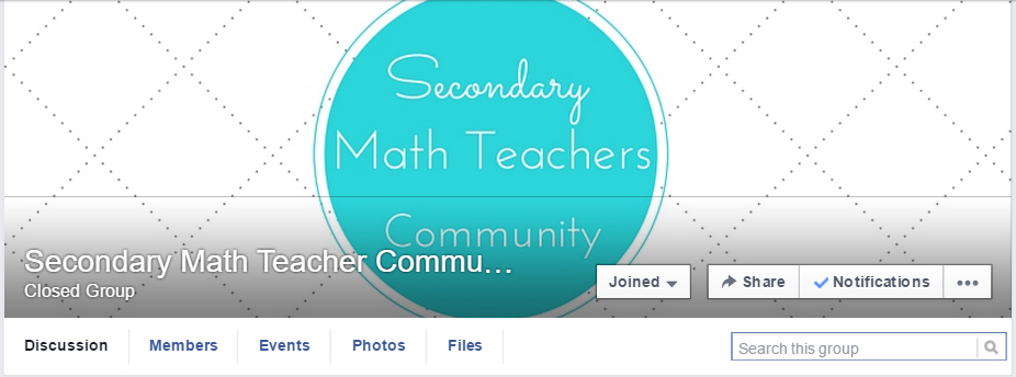 SecondaryMathFB