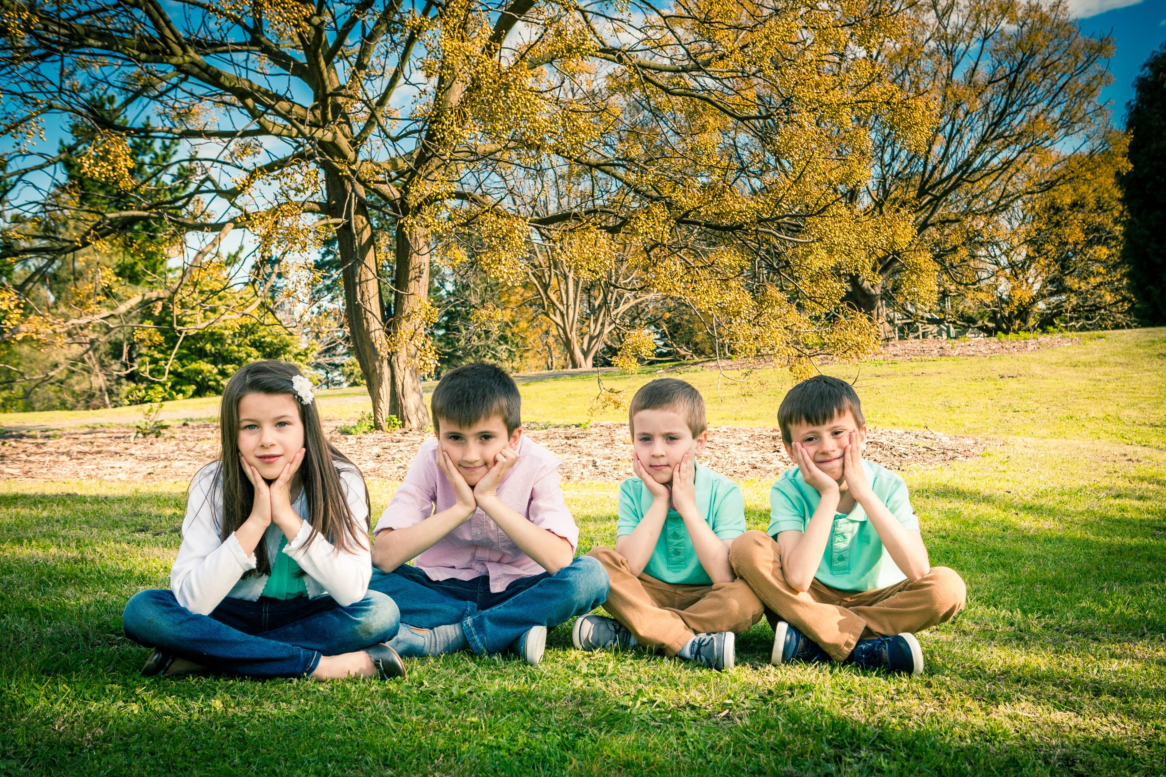 My children Camelia, Alex, Filip and David