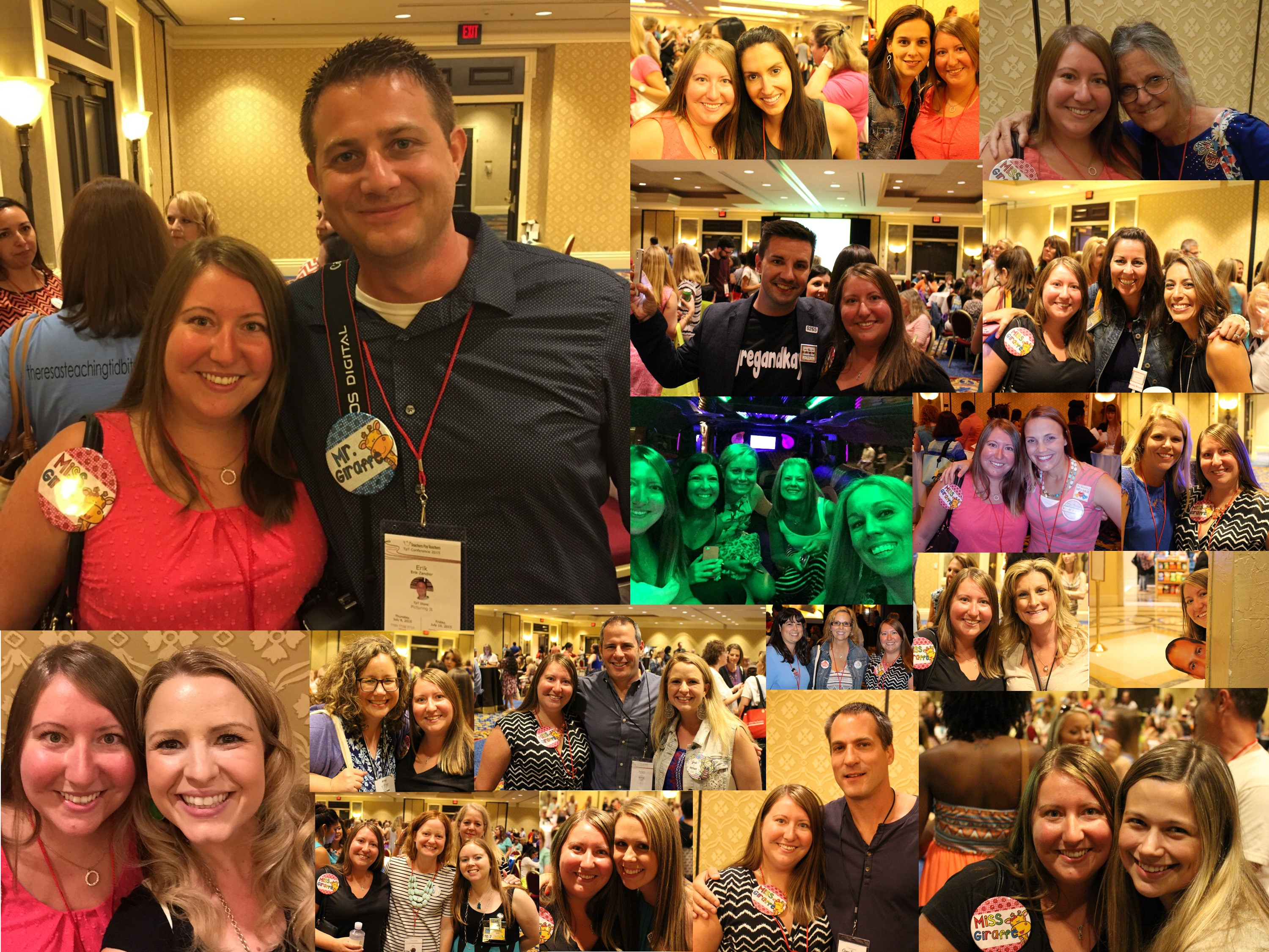 TpT Conference Collage