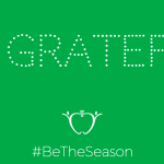 Be Grateful { #BeTheSeason }