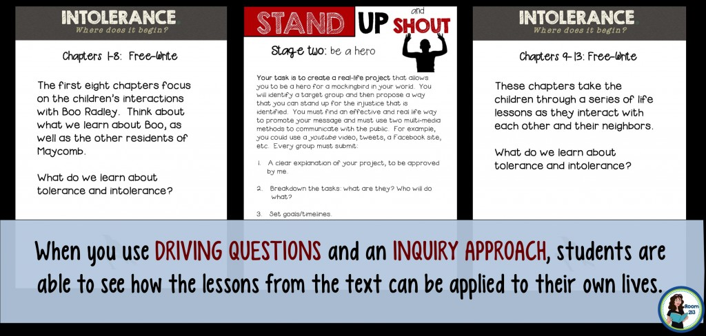 Use an inquiry approach