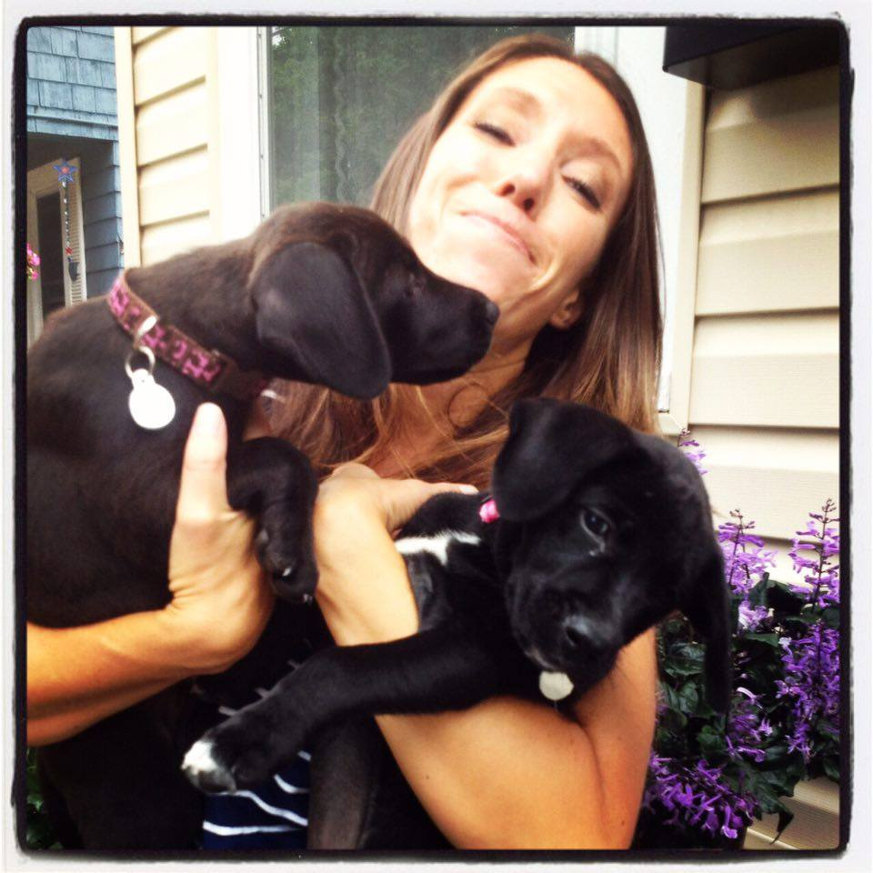 Me with Foster Pups