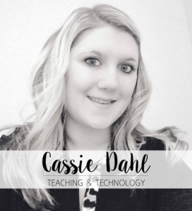 Headshot of Cassie Dahl, Teaching & Technology