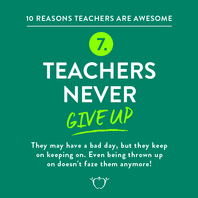 10 Reasons Teachers are Awesome by TpT