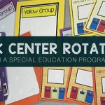 How to Set Up Work Centers in a Special Education Classroom