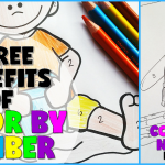3 Benefits of Color by Number + Free Coloring Sheets