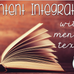 Content Integration With Mentor Texts {Freebie Included!}